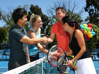 Tennis Mixers Tour
